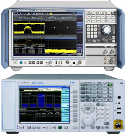 Spectrum Analyzers and Signal Analyzers