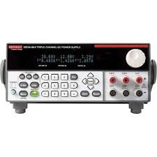 Keithley 2231A-30-3 Programmable DC Power Supply, Two 30V, 3A, One 5V, 3A Outputs, 195W