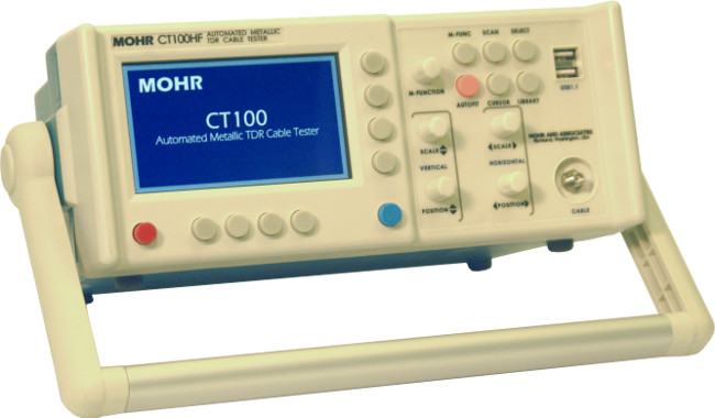 Coax Fault Locator : Rent or buy mohr ct s metallic tdr cable tester