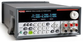 Keithley 2230G-30-1 Programmable DC Power Supply, Two 30V, 1.5A, One 6V, 5A, GPIB