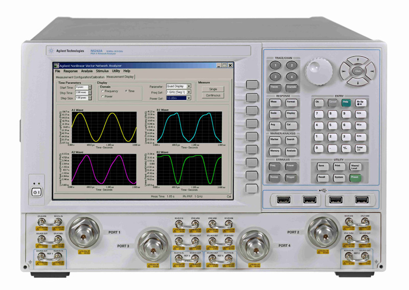 Network Analyzer And Harmonic : Agilent n a keysight hp rental repair