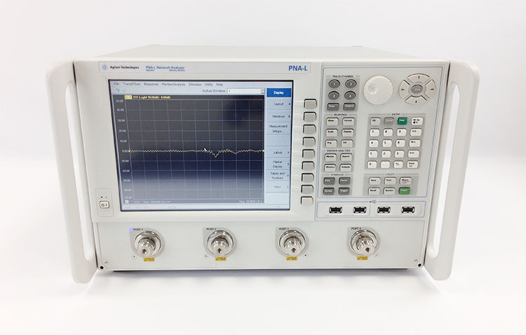 Keysight Network Analyzer : Agilent n a keysight hp rental repair