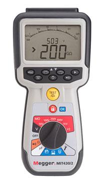 Rent Or Buy Megger Avo Biddle Mit430 2 Megohmmeter Insulation And Continuity Tester 1000v