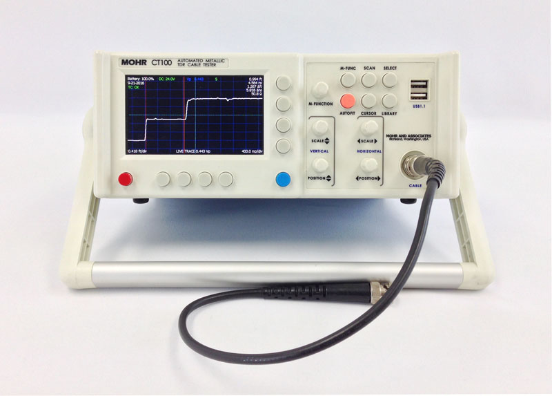 Rent Or Buy Mohr Ct100 Metallic Tdr Cable Tester