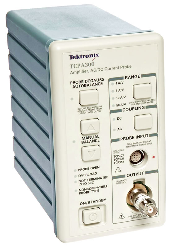 Oscilloscope Current Probe : Rent or buy tektronix tcpa current probe amplifier dc