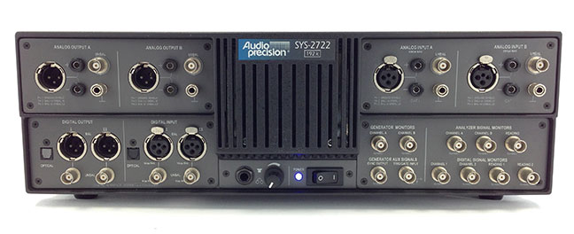 DOWNLOAD DRIVERS: AUDIO PRECISION SYS-2722