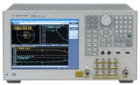 Keysight / Agilent E5072A Network Analyzer, 30 kHz to 4.5 GHz or 8.5 GHz
