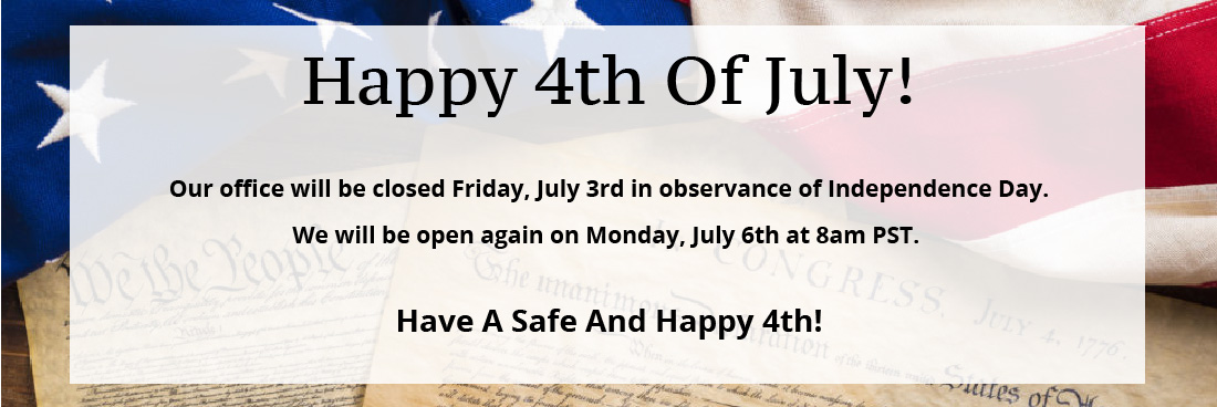 2020 4th of July out of office
